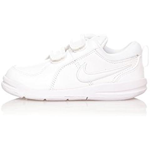 Nike Zapatillas Pico 4 (Tdv) Blanco / Plata EU 23.5 (US 7)