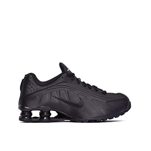 separation shoes 19c09 909f2 Nike Shox R4 (GS), Zapatillas de Atletismo para Hombre, Negro Black