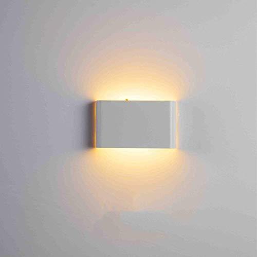 Mirror Lamps Home Wandmontierte LED Wasserdichte Wandleuchte Moderne Minimalistische Wandleuchte Schlafzimmer Nachttischlampe Gang Wandleuchte Projekt Außenwandleuchte (Color : D)