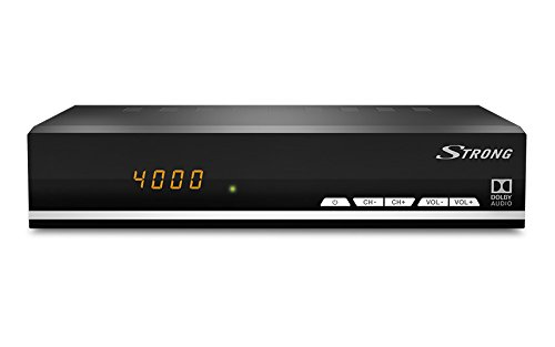 Programmierbarer Timer Batterie (STRONG SRT 7007 digitaler Satelliten-Receiver mit Display für Senderanzeige - DVBS2, HDTV [HD, HDMI, SCART, DVB-S2, USB, RSS Feeds, digitaler Koaxialausgang] schwarz)