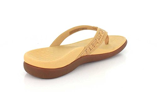 Vionic Womens Islander II Synthetic Sandals Braun