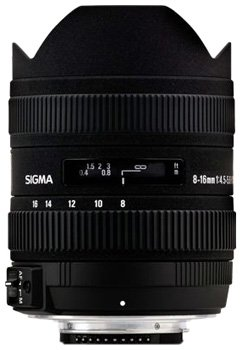 Cheap Sigma 8-16mm f4.5-5.6 DC Lens for Sony Digital SLR Cameras with APS-C Sensors on Amazon