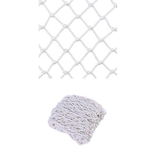 Balkon Anti-Fall-Netz Kinderschutznetz Seilnetz Sicherheitsnetz Outdoor Nylon Deko-Seilnetz Farbe Haustier Dachgeschoss Treppe Schutz Anti-Fall-Netzseil (10 mm Seil, 8 cm Loch) (Size : 1 * 3)