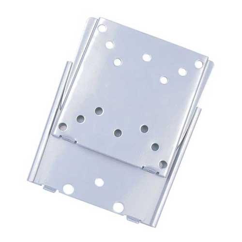 "TooQ LP1023F-S - Soporte fijo de pared para monitor/TV/LED/LCD de 10"" a 23"", hasta 30kg de peso, distancia a la pared de 15 mm, formato VESA hasta 100x100, color plata"