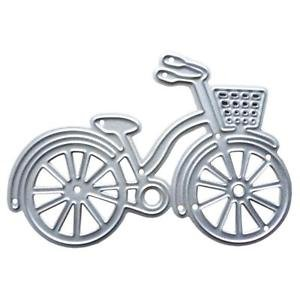 ELECTROPRIMEÃ?â??® Metal Cutting Die Stencil Scrapbooking Album Paper Card Embossing Tool -Bike