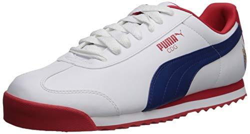 6d34a740c Puma Hombres Deportivos de Moda, Puma White-Limoges-h, Talla 7.5