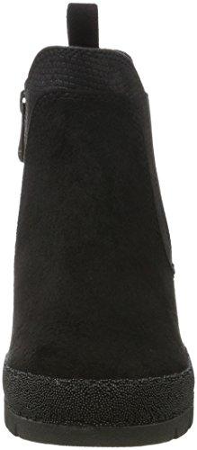 Marco Tozzi Damen 25401 Chelsea Boots Schwarz (Black Comb)