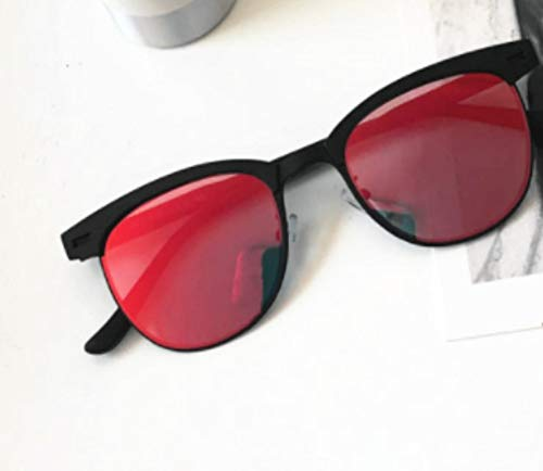 MJXVC Korea Wilde Klassische Männer Sonnenbrille einfachen Retro-Trend Männer quadratische Sonnenbrille Männer und Frauen Brille - Korea Sonnenbrillen Männer