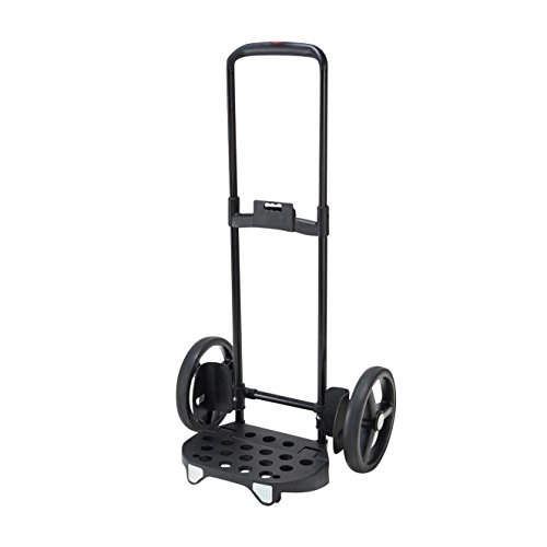 Reisenthel DE7003 Citycruiser Rack Einkaufstrolley, Aluminium, schwarz, 39 x 47.5 x 105.5 cm