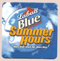 labatt-brewing-company-labatt-blue-summer-hours-paperboard-coasters-set-of-4-by-labatt-brewing-compa
