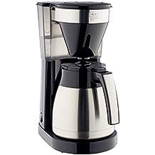 Melitta 1023-10 EasyTop Therm Steel II - Cafetera de filtro (1050, acero