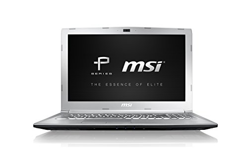 MSI Prestige PE62 7RE-2024XIN 2017 15.6-inch Laptop (7th Gen Core-i7/8GB RAM/1TB HDD/DOS/Integrated Graphics), Silver image