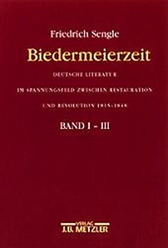 Biedermeierzeit: Deutsche Literatur im Spannungsfeld zwischen Restauration und Revoluti on...