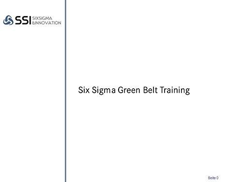 GB Six Sigma Self-Training, Prüfung und Zertifizierung (Six-sigma-ausbildung)