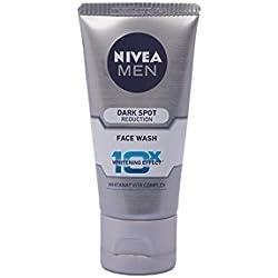 Nivea Men Dark Spot Reduction Face Wash (10X whitening), 100gm