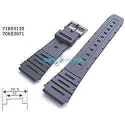 CASIO COMPATIBLE RUBBER STRAP CA 20 MM - 53W W720C 61W CA-WL-W 100 G 741