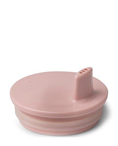 Design Letters - Trinkaufsatz, Deckel für Melamin Becher - Ergänzung zu Melamin Becher - Farbe: Pink