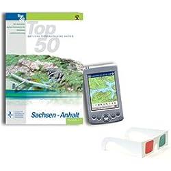 TOP50 Sachsen-Anhalt: Topographische Karten 1:50 000 auf CD-ROM
