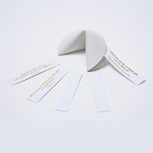 CHINA FORTUNE COOKIE · Shards bring good fortune ·incl. fortune messages · for weddings, hen parties, new year's eve and many more (Paper Fortune Cookies)