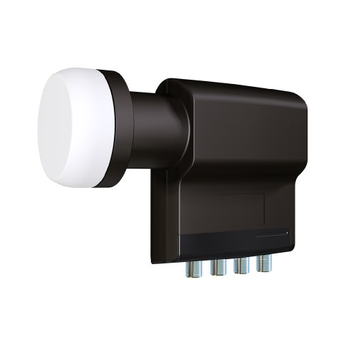 Inverto IDLB-QUDL40 Selected Quad Premium LNB 40mm schwarz