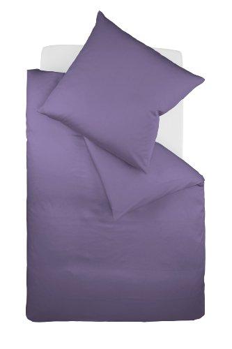 Galleria fotografica fleuresse Colours Lenzuola (copripiumino + federa) in satin di cotone makò con chiusura lampo 135x200 + 80x80 cm