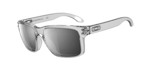 Oakley MOD. 9102, Occhiale da Sole, CLEAR/CHROME IRIDIUM/Chrome Iridium (S3), Taglia Unica
