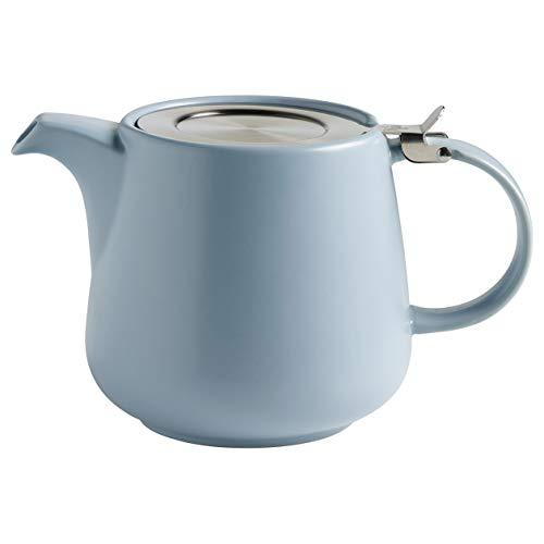 Maxwell & Williams AY0299 Tint Teekanne aus Porzellan, Hellblau, 1200 ml