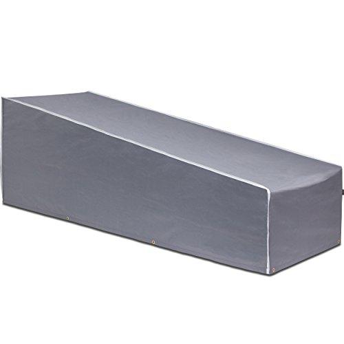 Purovi® copertura per sedia a sdraio | protezione per tutte le stagioni oxford quality | impermeabile e resistente ai raggi uv
