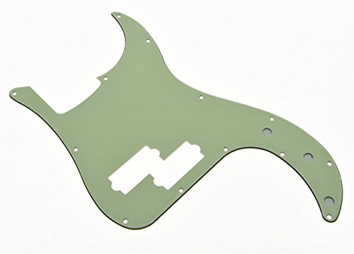kaish Precision P Bass Pickguard mint grün 3-lagig für uns/mexikanischen Fender P Bass