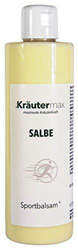 Sport-Balsam 1 x 250 ml - auch Sport-Salbe - Sport-Creme - Balsam mit pflegenden Wirkstoffen aus Jojobaöl, Ringelblume, Sheabutter, Minzöl, Menthol und Rosmarin