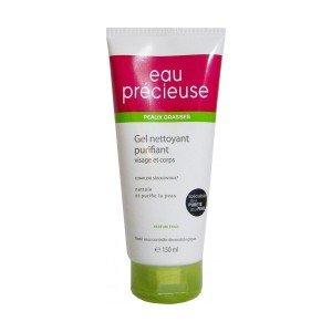 Eau Précieuse-Gel Nettoyant Purifiant Visage et Corps Peaux Grasses, Eau Précieuse - 150 ml (20% offert)