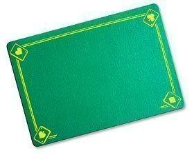 Tappetino classico stampata verde (40 x 27,5 cm)