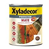 Xyladecor 5088062 - Protector mate extra 3 en 1 NOGAL Xyladecor