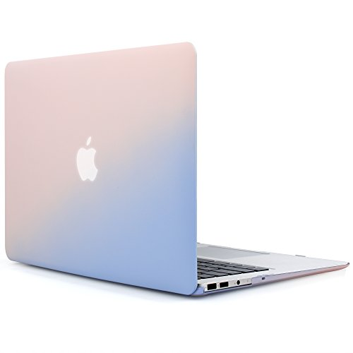 iDOO MacBook Schutzhülle / Hard Case Cover Laptop Hülle [Für MacBook Air 13 Zoll: A1369/A1466] -...