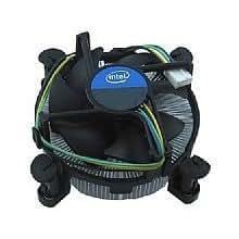 Intel E 97378–001 Lga1155/1156 processeur et dissipateur thermique en aluminium et cuivre, P/N #E 97378–001 Bulk Compatible Intel