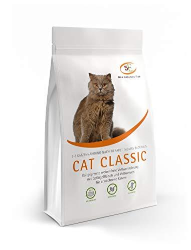 Das Gesunde Tier: CAT Classic kaltgepresstes Katzenfutter, Getreide- und glutenfrei, mit Geflügel, 1 kg