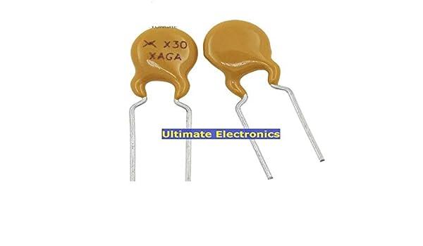 30pcs PTC fusible r/éarmable RXEF030 72V 0.3A 300MA