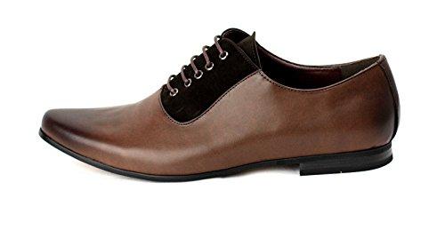 Hommes Élégant Chaussures Habillées À Lacets pour Bureau Habillé Mariage Travail Café/Café