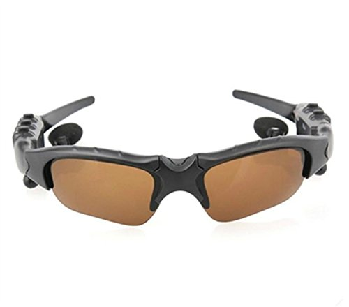 Bluetooth-Sonnenbrille Wireless Motorrad Eyewear mit 4 GB Stereo Musik MP3 (Call