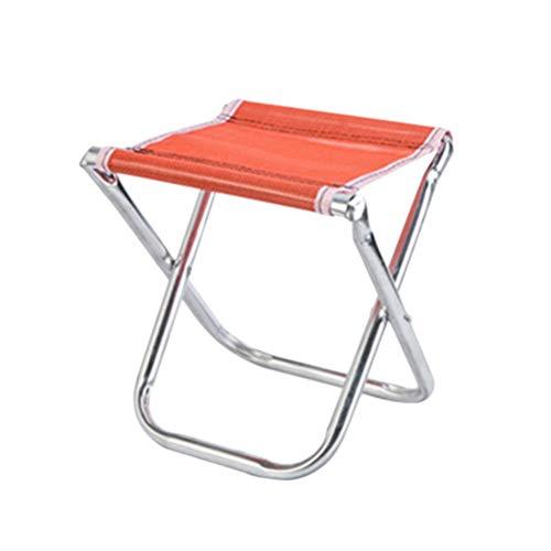 LIOOBO Tragbarer Mini-Klapphocker, Campinghocker, Outdoor Klappstuhl Slacker Chair für BBQ, Camping, Angeln, Reisen, Wandern, Garten, Strand - Del Mar Bbq