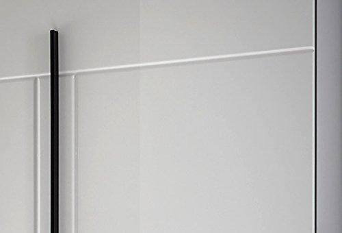 Wohnwand Anbauwand mit LED-Beleuchtung 440940 weiß 260cm 4-teilig - 5