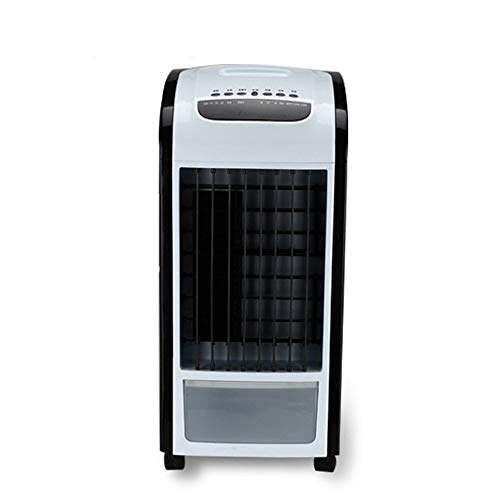 Kreative Mini-Klimaanlage Fan/Student Dorm Room Cool Fan/Fernbedienung Kleine Befeuchtung Kühlschrank/Einfache Bladeless Cold Air Fan (Farbe: Schwarz, Größe: Fernbedienung)