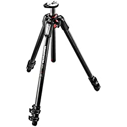 Manfrotto 055 Carbon Fibre 3 Section Tripod with Horizontal Column