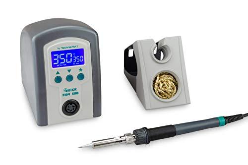 Quick 3104 digital regelbare ESD Lötstation 80 Watt inkl. Lötkolben mit...