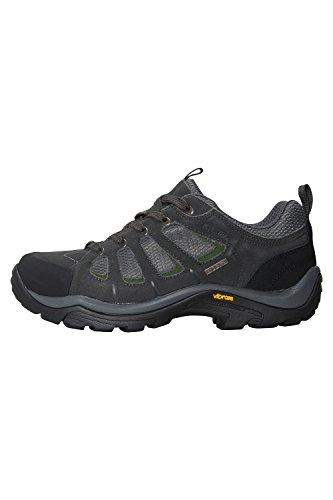 Mountain Warehouse Chaussures Vibram étanches pour hommes Field Gris
