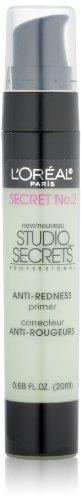 L'Oréal Paris Studio Secrets Professional Anti-Redness Correcting Primer, Green, 0.68 fl. oz.