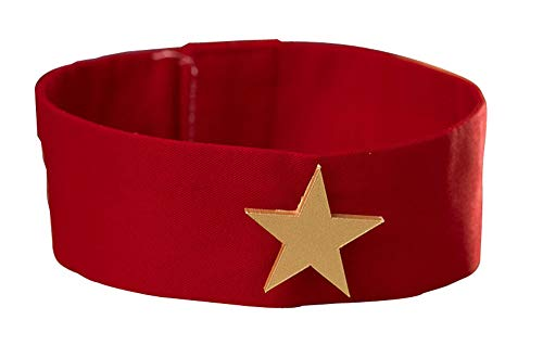 CHIUS Cosplay Costume Red Collar Band For Sailor Mars Hino Rei Version 4 (Collar Band Red)