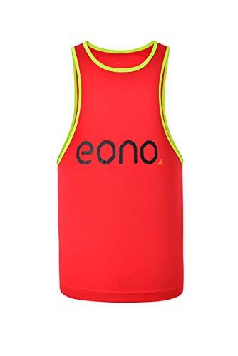 Eono Essentials - Peto entrenamiento niño rojo, 8