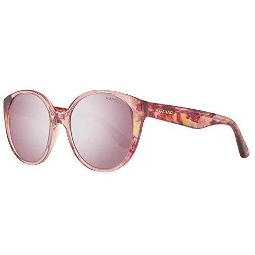 Guess Damen by Marciano Gm0772 72F 55 Sonnenbrille, Rosa,