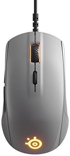 SteelSeries Rival 110 - souris optique de jeu - éclairage RVB - 6 boutons - gris